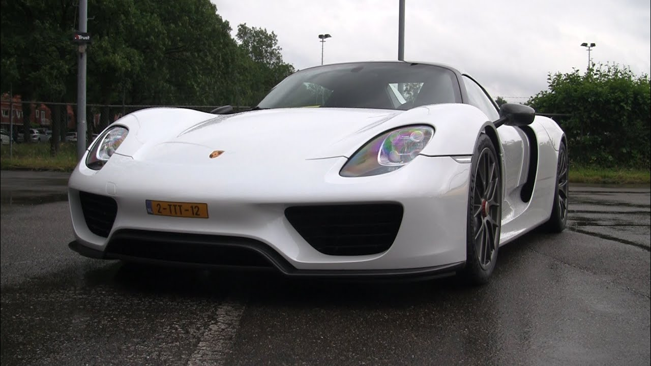 porsche 918 spyder weissach package acceleration youtube - Porsche 918 Spyder White