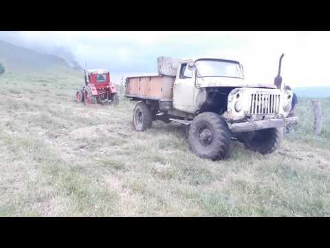 #Тягач дизельный #Газ-52 4х4 против Трактор Т-40  |  Тест Драйв