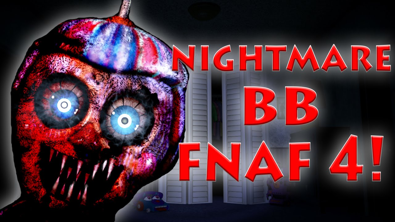 Nightmare Balloon Boy FNaF 4 HALLOWEEN UPDATE?!   New Scott Horror ...