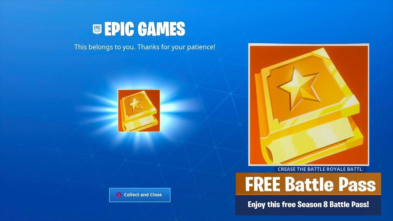 how to unlock a free fortnite season 8 battle pass - fortnite battle pass season 8 aufgaben