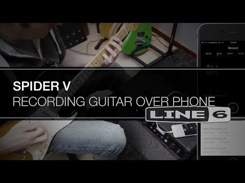 Spider V - Record guitar on your phone