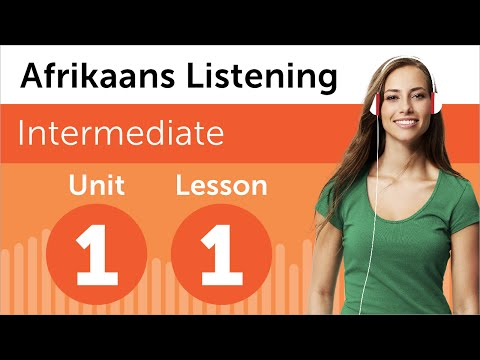 Afrikaans Listening Practice - Looking At Apartments in South Africa