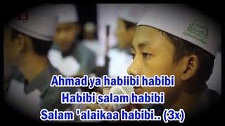 """Video Lirik"" Ahmad Ya Habibi Syubbanul Muslimin Voc. Nuruz Syabani (HD)"