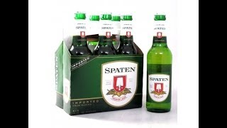 Philly Brew Reviews 8 - Spaten Premium Lager(From Munich, Germany. We'll be the judge of just how