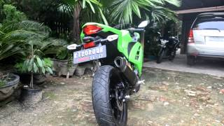 Kawasaki Ninja 300 injection & akrapovic exhaust