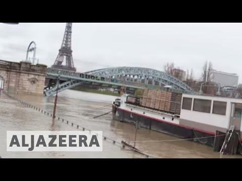 Paris Flood Alert As River Seine Bursts Its Banks