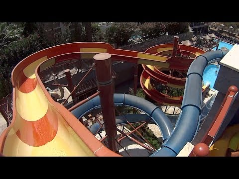 Easy Body Water Slide at Pirates of the Cactus
