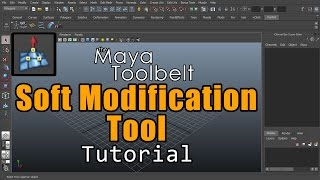 The Maya Toolbelt Soft Modification Tool
