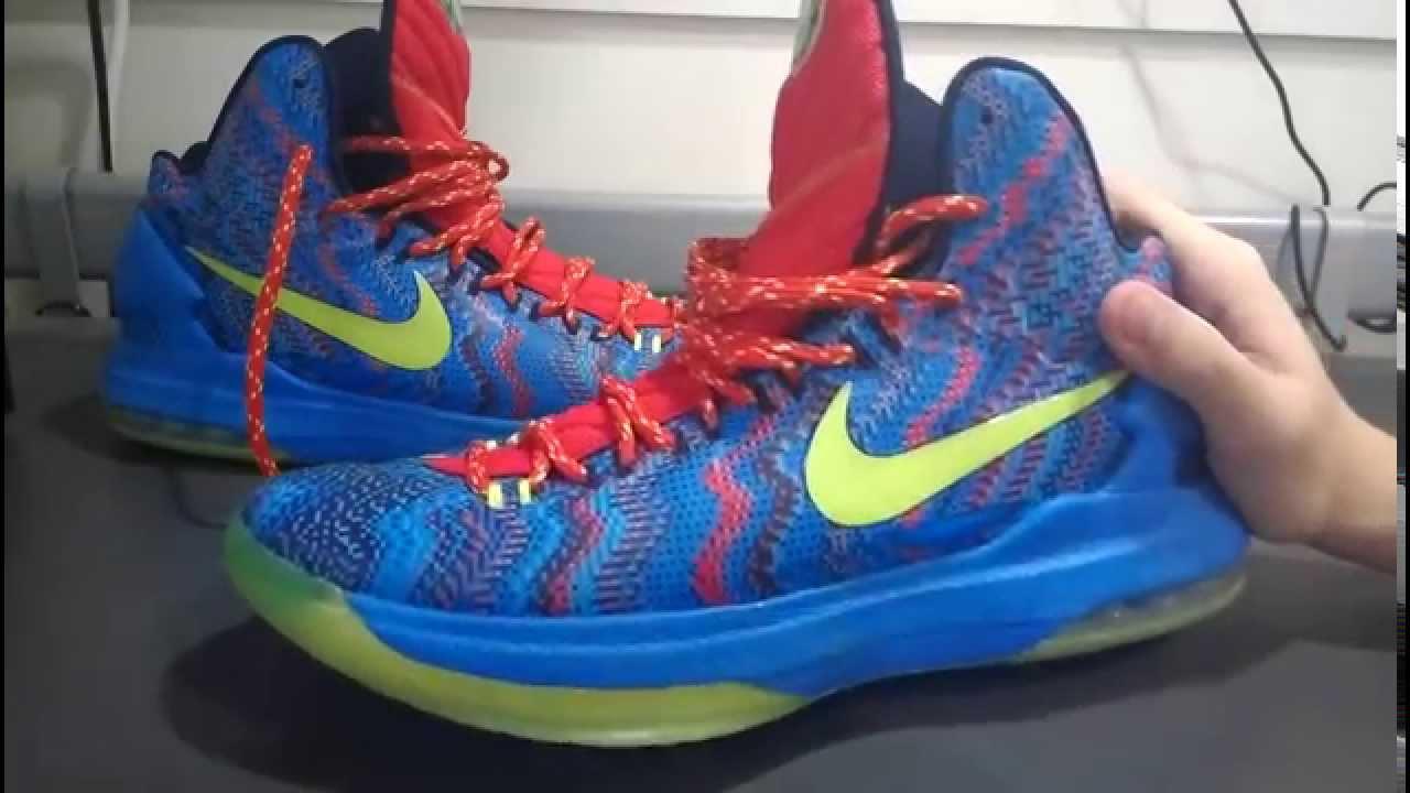 best service 82ea2 d4c27 Nike KD V Christmas 開箱