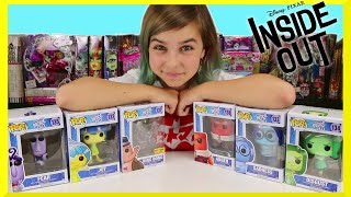 Disney Pixar Inside Out Funko POP Joy, Fear, Disgust, Bing Bong, Sadness and Anger Review