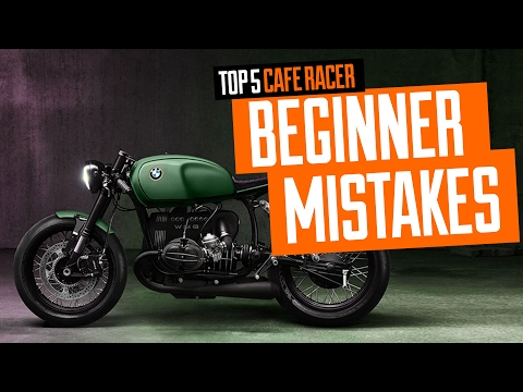 Top 5 Cafe Racer Mistakes Made by Beginner Video