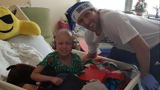 Dirk's private visits bring magic to sick kids
