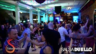 Salsa Duello Saturday OCT 13 feat Belly Dance performance