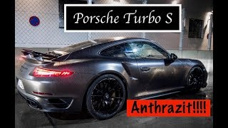 Porsche Turbo S in Anthrazit , brutaler gehts nicht !!!