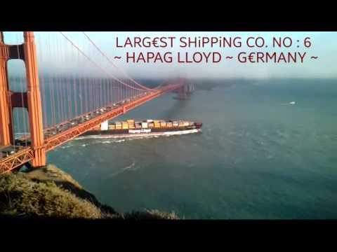 WORLD '10' LARGEST SHIPPING COMPANY (2015)