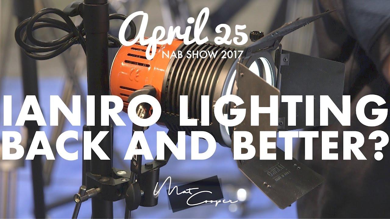 Nab 2017 Ianiro Lighting Back In The