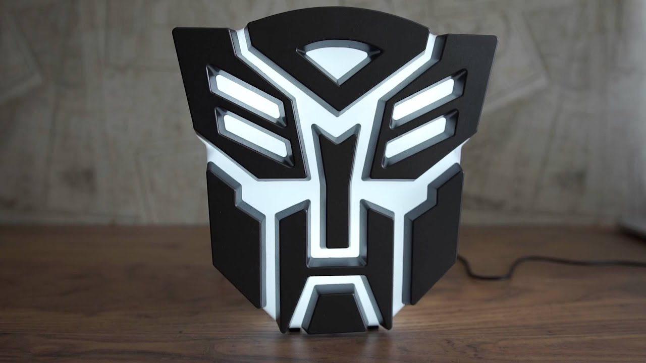 Transformers Autobot Light Youtube