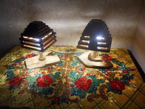 "интересные лампы торшеры ""він і вона"""