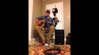 "Chris Young ""Lonely Eyes"" cover by Dylan Riddle Boss RC-3 Loop Pedal"