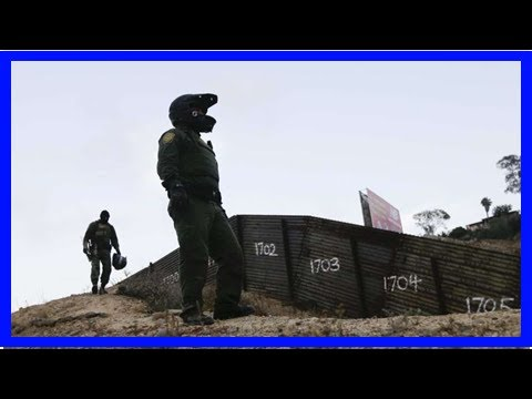 Breaking News | The Latest: US Border agency tests body cameras on agents