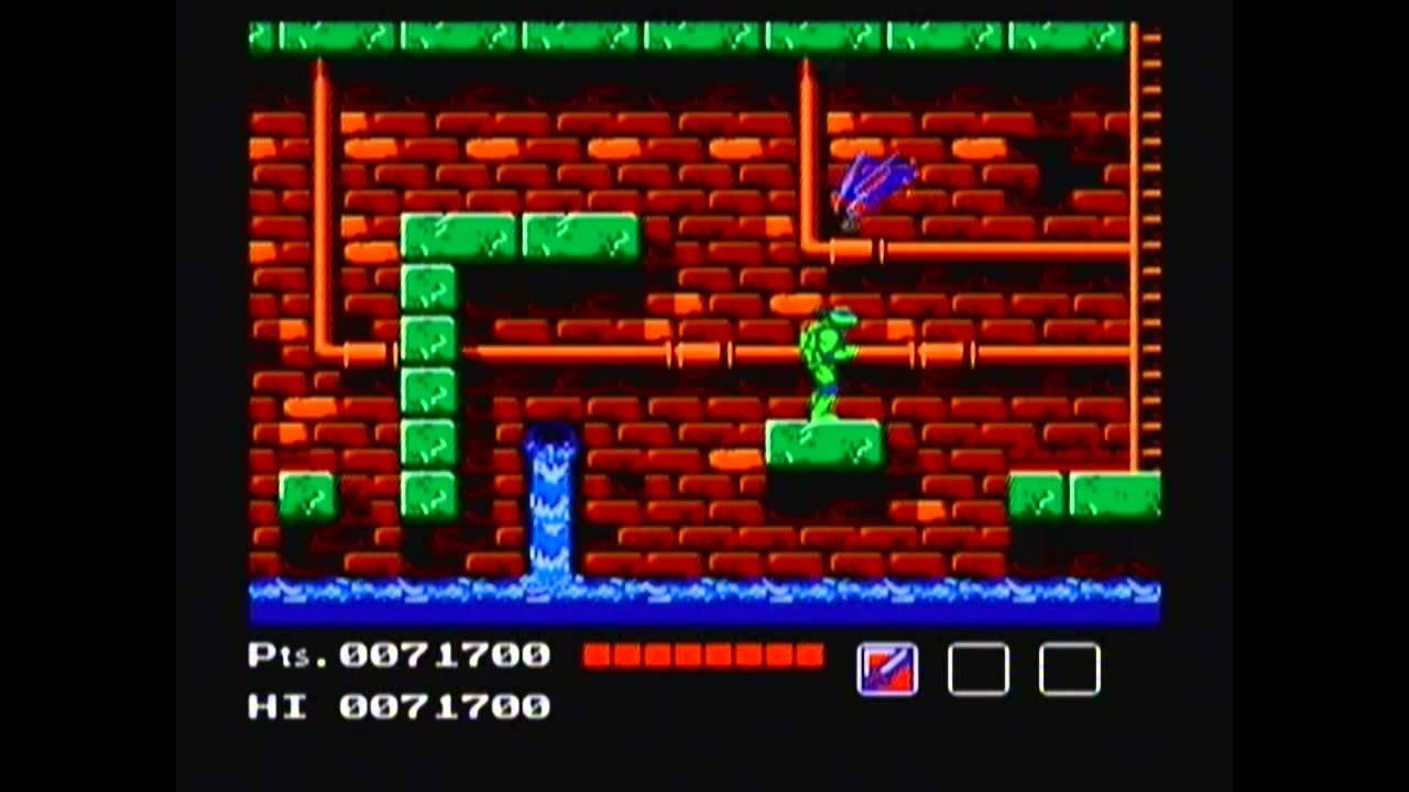 Teenage Mutant Ninja Turtles 1 Nes Game Genie Playthrough Without