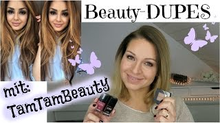 More Beauty - DUPES mit TamTamBeauty November 2015 / MAC, Bobbi Brown, Chanel