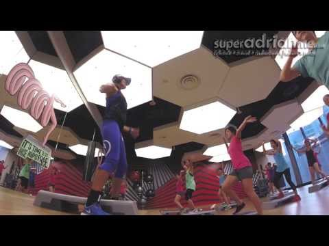 ZUMBA Steps Introductory Class at Virgin Active Singapore