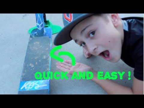 How to Clean Your Griptape!  |Vlog#2|