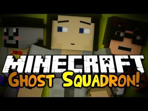 Minecraft: Mini Game: Ghost Squadron! |