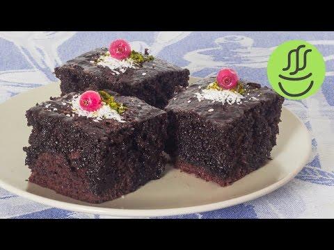 10 Dakikada Kolay Islak Kek - Browni Kek Tarifi - Islak Kek Tarifi - Kakaolu Islak Kek