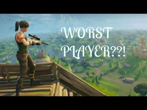 The Worst Fortnite Player EVERRR ( Help Me Win! ) Fortnite  # 1