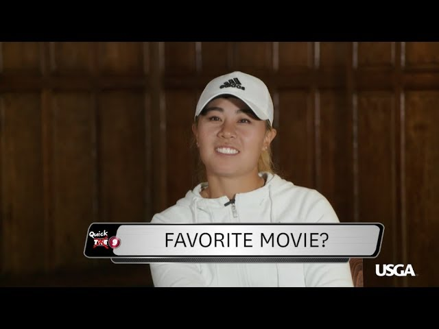 THE 9: Quick 9 with Danielle Kang  - Buy American