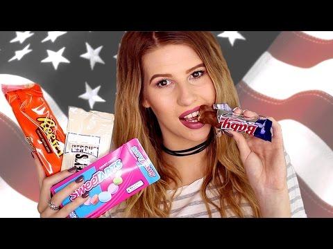 British Girl Tries American Candy!  Hannah Leigh