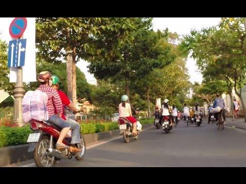 2014 Downtown Saigon Ho Chi Minh City Vietnam Street View