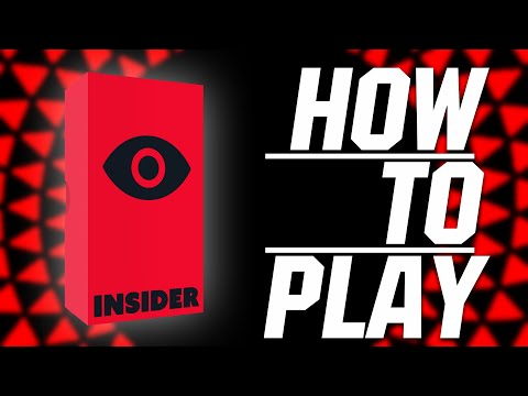 BGN บอร์ดเกมไนท์ Insider  How to Play