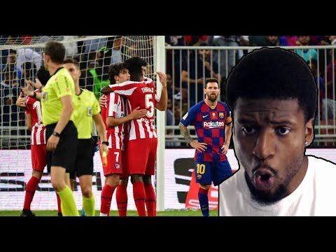 Download BARCELONA VS ATLETICO MADRID 2-3 ALL GOALS AND HIGHLIGHTS -REACTION