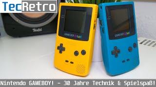 Nintendo GAMEBOY! 30 Jaнre an Spielspaß und Technik! | TecRetro | deutsch | 4K60p