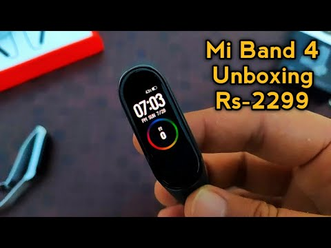 Xiaomi Mi Band 4 Unboxing & First Look | Best Budget Fitness Band | Mi Band 4 Review