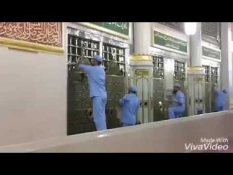 Cleaning Of The Prophets Grave (Rawdah) | Masjid Nabawi | Madinah