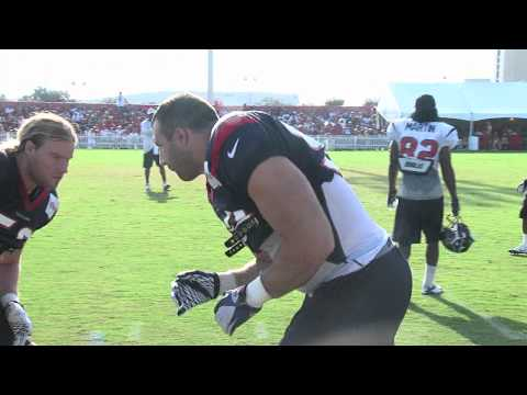 Texans 2012 Training Camp - Replacing Mario Williams and Demeco Ryans