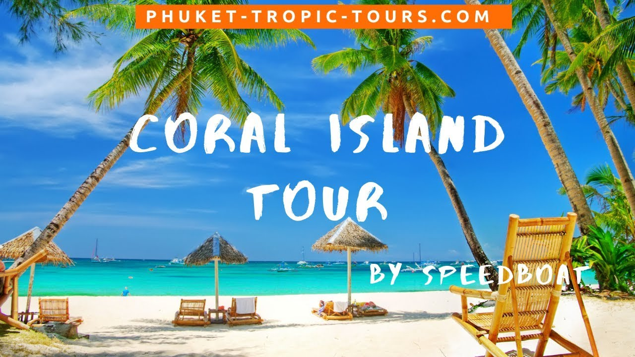Coral Island tour, video overview: