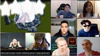 Summoners War Streamers Lnd Summon Reaction #4