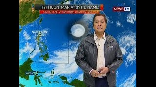 Weather update as of 12:05 p.m. (July 8, 2018)