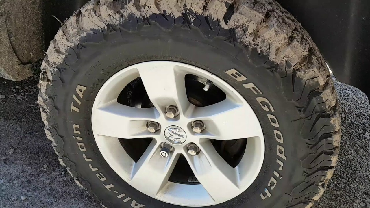 All Terrain Tires >> BFGoodrich All-Terrain T/A KO2. Great All-Terrain tire. - YouTube