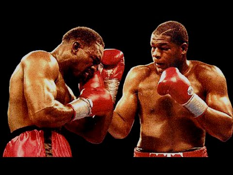 Riddick Bowe vs Evander Holyfield I - HIghlights (FIGHT of the Year 1992)