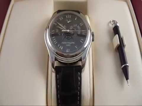 Patek Philippe annual calendar Wristwatch with moon phase