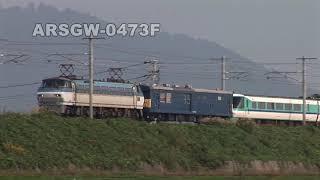 Arsgw-0473F【381系】救出!特急くろしお【甲種回送】