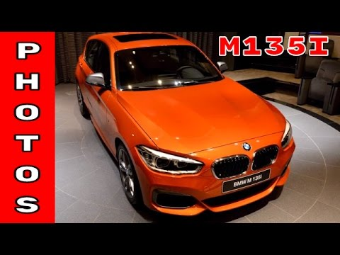 2017 Valencia Orange BMW M135i