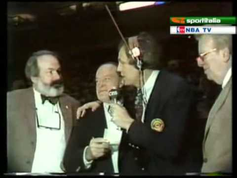 Hot Rod Hundley Interviews NBA Commisioner and Bob Hope 1981 ASG
