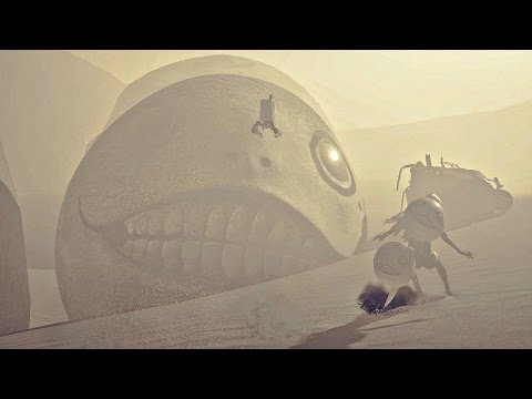 Nier Automata - Emil True Final Boss Fight (Secret Boss & Ending Y)